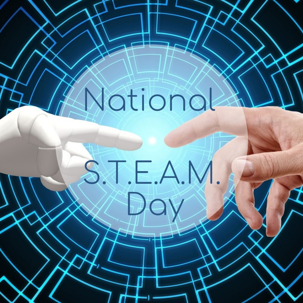 Happy National STEAM Day